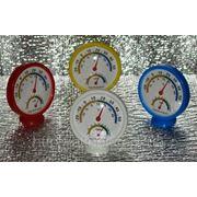 Измеритель влажности. Механический гигрометр-термометр. фото