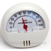Гигрометр механический, вологомір повітря, гігромтер, влагомер фото