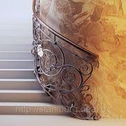 Перила кованые фото