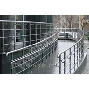 Перила из нержавеющей стали, лестницы. фото