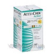 Тест-полоски Accuchek Aktive Glucose 25 шт.