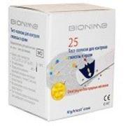 Тест-полоски GS300, Bionime Rightest 25 шт.