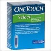 Тест-полоски One Touch Select 25 шт. фото