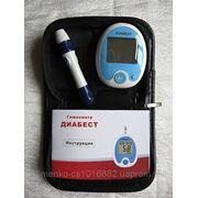 Глюкометр Диабест, 150 тест-полос и 150 ланцетов. фото