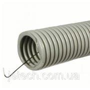 Труба гофрированная тяжелая с протяжкой, d=20 mm, ДКС, 91520 фото
