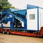 Мобильная Бетоносмесительная установка Sumab K-80 фото