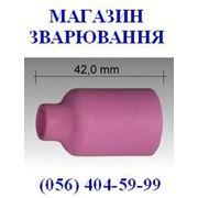 Керамическое сопло L=42 mm для аргонодуговых горелок ABITIG®GRIP/SRT 17, 26, 18, SRT 17V/17FXV/26V/26FXV/18SC фото