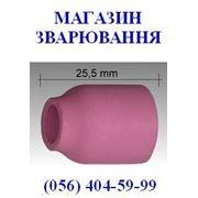 Керамическое сопло L=25,5 mm для аргонодуговых горелок ABITIG®GRIP/SRT 9, 9V, 20 корпус цанги с диффузором фото