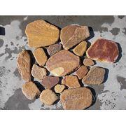 Камень сланец «Персик окатанный» фото