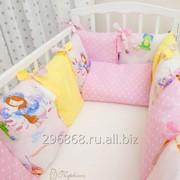 Комплект в кроватку Принцесса фото
