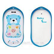 Детский телефон + GPS-трекер Baby Bear фото