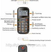 Персональный GPS устройство слежения GPS-трекер- мобильный телефон Х-9 фото