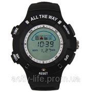 Профессиональные водонепроницаемые часы All The Way с GPS- трекером фото