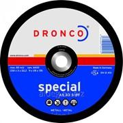 Абразивный отрезной диск Dronco AS 30 S 230x3 фото