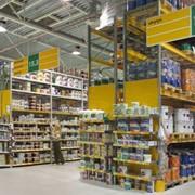 Стеллажи для торговых компаний проект: Кодин Терра, Финляндия фото
