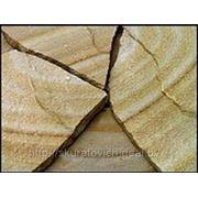 Камень Песчаник Тигровый (Радужный) фото