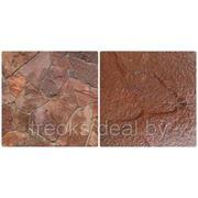 Песчаник терракотово - красный фото