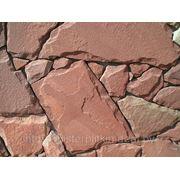 Песчанник терракотово-красный толщина 1,5 см фото