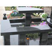 Стол и скамейка 155х60х5. фото