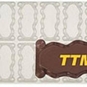 Пластиковая форма для шоколадных визиток фото