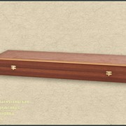 Футляр деревянный. Изготовление деревянных футляров для оружия по индивидуальному заказу фото