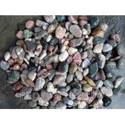 Камень Галька из горных рек кавказского хребта мелкая фото