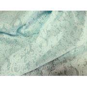Батист Цветок Вышивка (нежно - голубой) (арт. 12153) фото