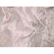 Батист Цветок Вышивка (нежно - розовый) (арт. 12154) фото
