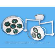Светильник операционный бестеневой потолочный 9-рефлекторный СР-2 (6+3) фото