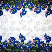 Коттон облегченный купонный (роза) фото
