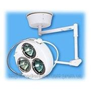 Светильник хирургический стационарный регулируемый размером рабочего поля СР-3 (3-х рефлекторный) фото