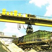 Кран мостовой специальный фото
