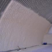 Теплоизоляция потолка пенополиуретаном фото