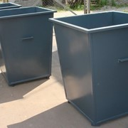 Контейнер для збору сміття, урни фото