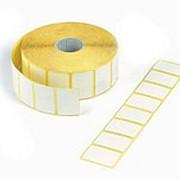 Этикетки 30х20х2000 полуглянец, втулка 26 мм ( для термотрансферных принтеров) фото