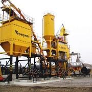 Установка асфальтосмесительная на природном газе с релейно-контактной системой управления ДС-18567 фото