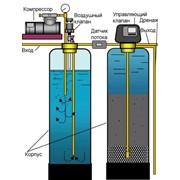 Установка фильтров для обезжелезивания воды фото