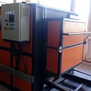 Печь электрическая камерная с выдвижным подом фото