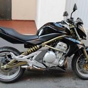 Мотоцикл Kawasaki er6n Класик фото