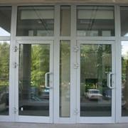 Изготовление и монтаж алюминиевых окон и дверей. фото