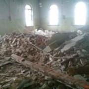 Демонтаж стен и перекрытий фото