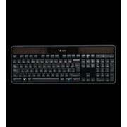 Клавиатура Logitech Wireless Keyboard K750 Solar USB EN/RU black фото