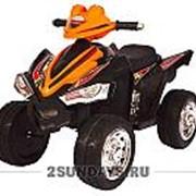 Детский электроквадроцикл BARTY M004MP оранжевый фото