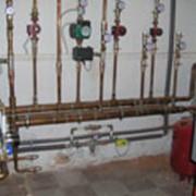 Монтаж и замена труб воды и отопления. фото
