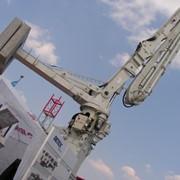 Стрела с функцией самоподъема. Бетонораспределительная стрела с бетоноводом 125 мм наилучшее решение для быстрого и качественного строительства. Стрелы гидравлические самоподъемные. фото