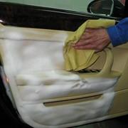 Химчистка салона автомобиля горячим паром фото