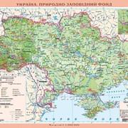 Україна. Природно-заповідний фонд, м-б 1:1 000 000 (на планках) фото