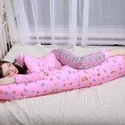Подушка для беременных В ожидании чуда (хлопок, бязь) фотография