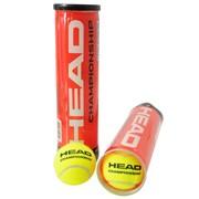 Мячи для тенниса Head Championship (банка: 4 мяча) фото