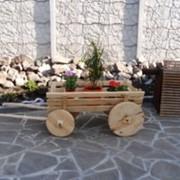 Большая телега в сад фото